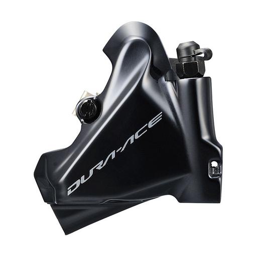 Калип. гидр. Shimano R9170, передн., flat mount с креп. для ротора 140/160мм, полимерн. колодк. L02A с кулером.