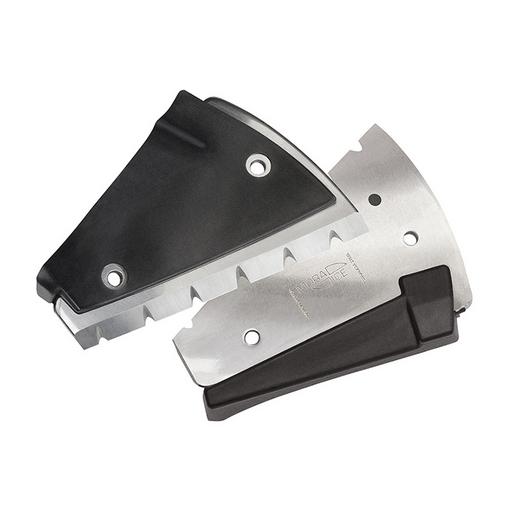 Ножи MORA ICE EZ Cut сферические зубчатые 150 мм.