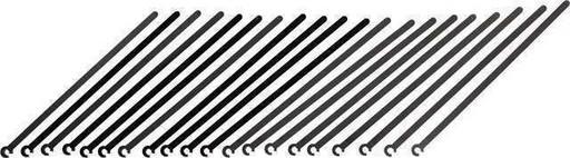 Стяжка Shimano для проводов EW-SD50-I, (20шт).