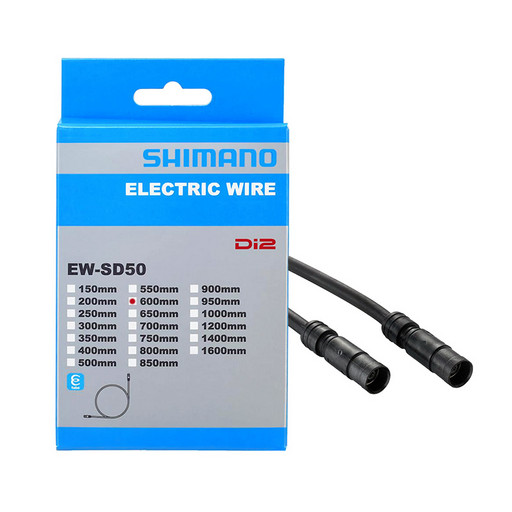 Эл. провод Di2 Shimano, EW-SD50, для Ultegra Di2, STEPS, 600мм цв. черн.