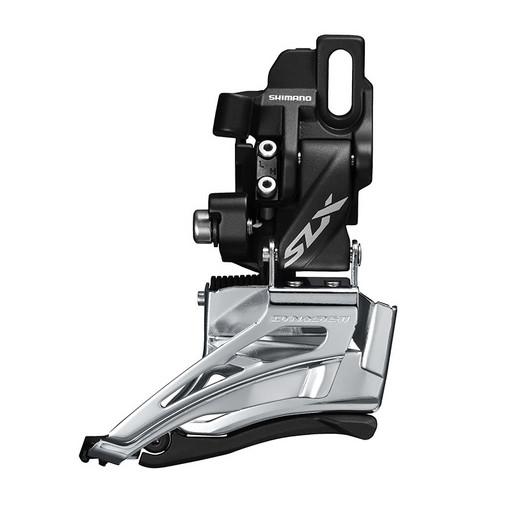 Перек-ль передний Shimano SLX, M7020-D, direct mount, side-swing, для 2X11, верхн. Тяга