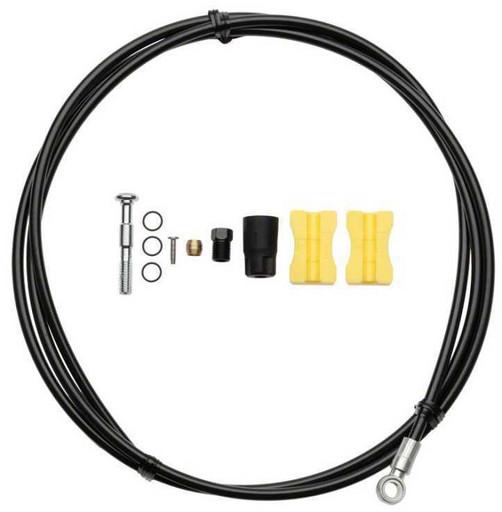 Гидролиния Shimano, BH90-SB, 1700мм, обрезной, цв. черный, TL-BH61
