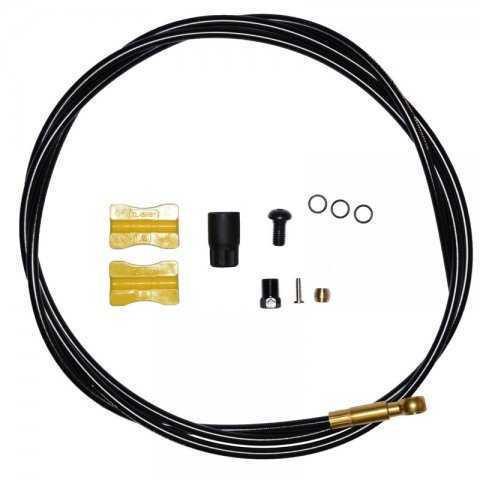 Гидролиния Shimano Saint, BH90-SBLS, 1000мм, обрезной, цв. черный, TL-BH61