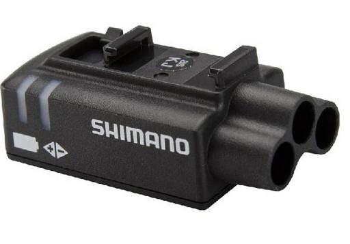 Распред. блок Shimano Di2, EW90-A, e-tube порт 3шт, порт д. зарядки (1шт)