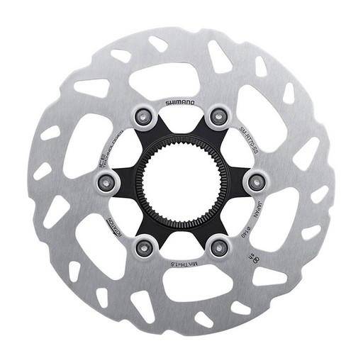 Тормозной диск Shimano SLX, RT70, 140мм, C.Lock