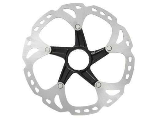 Тормозной диск Shimano XT, RT81, 140мм, C.Lock