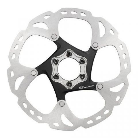 Тормозной диск Shimano XT, RT86, 160мм, 6-болт