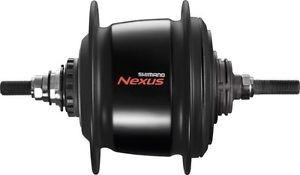 Втулка планетарн. Shimano Nexus, C6001, 36 отв, 8ск, д. рол.тор, 132x184мм, цв. черный, б/уп.