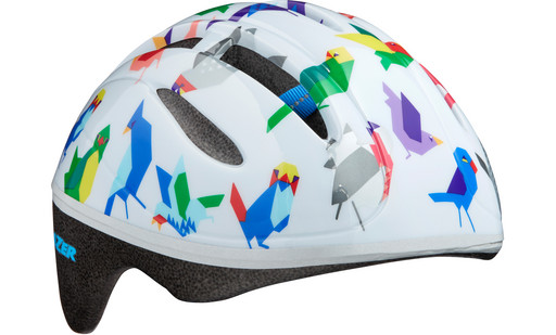 Шлем вел-й Lazer Kids Bob цв. бел. птицы разм. U