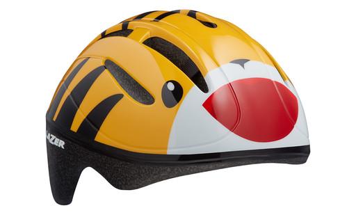 Шлем вел-й Lazer Kids Bob цв. оранж. тигр