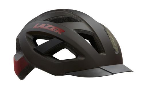 Шлем вел-й Lazer Cameleon цв. мат. черн. красн. разм. L