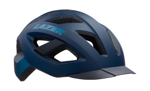 Шлем вел-й Lazer Cameleon цв. мат. темн. синий разм. L