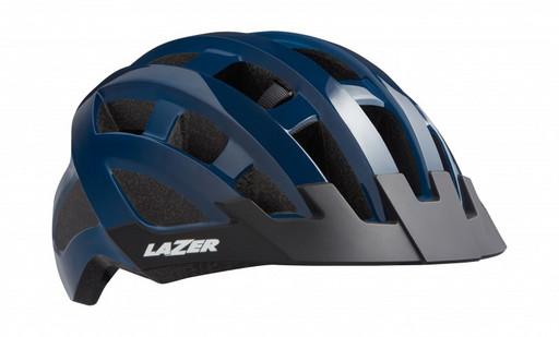 Шлем вел-й Lazer Compact цв. темн. синий разм. U