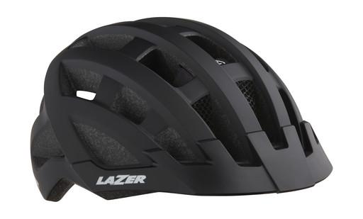 Шлем вел-й Lazer Compact dlx Mips цв. мат. черн. разм. U