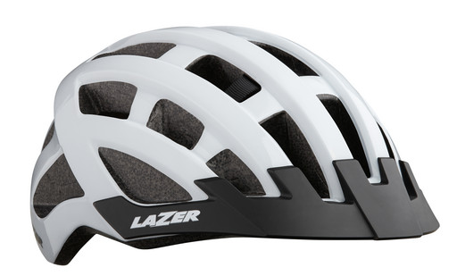 Шлем вел-й Lazer Compact цв. бел. разм. U