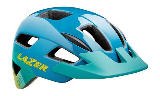Шлем вел-й Lazer Kids Gekko MIPS цв. синий желт. разм. U