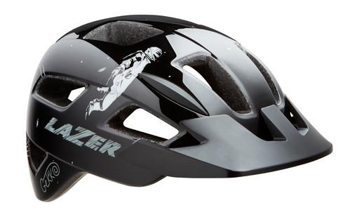 Шлем вел-й Lazer Kids Gekko цв. черн. космонавт разм. U
