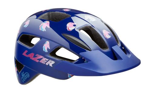 Шлем вел-й Lazer Kids Lil Gekko цв. синий пони разм. U