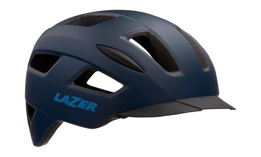 Шлем вел-й Lazer Lizard цв. мат. темн. синий разм. L