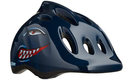 Шлем вел-й Lazer Kids Max+ цв. темн. синий акула разм. U