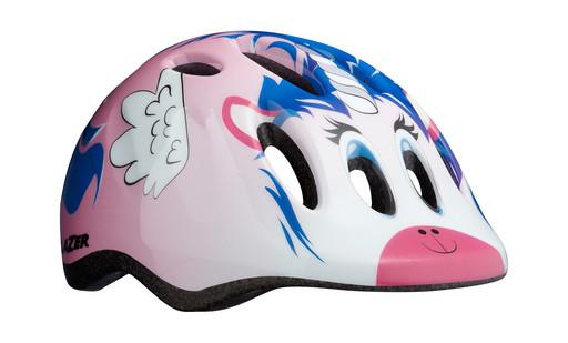Шлем вел-й Lazer Kids Max+ цв. роз. единорог разм. U