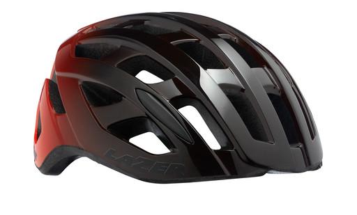 Шлем вел-й Lazer Tonic цв. черн. оранж разм. L