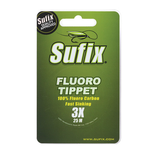 Леска SUFIX Fluoro Tippet прозрачная 25 м 0.108 мм 0,9 кг