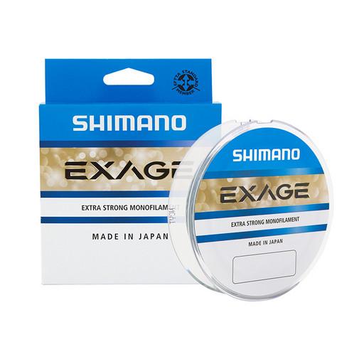 Леска SHIMANO Exage 150 м прозрачная 0,405 мм 12,9 кг
