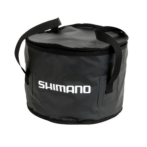Сумка Shimano PVC GROUNDBAIT BOWL LARGE черн.