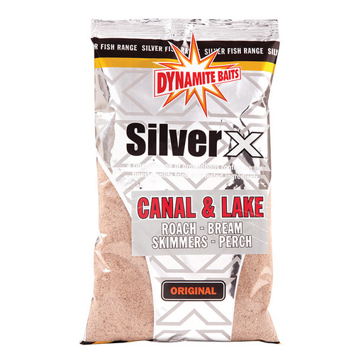 Прикормка DYNAMITE BAITS Silver X Canal and Lake Original 1 кг