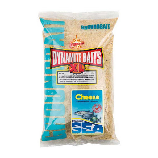 Прикормка Dynamite Baits Sea Groundbait - Cheese Heavy 1кг.