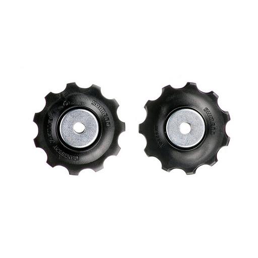 Ролики переключателя Shimano, 9ск, верхн+нижн, к RD-M390/M430/M4000