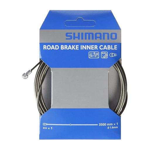 Трос торм, шоссе Shimano, 1.6X3500MM, для #800 3501-4, нерж. сталь