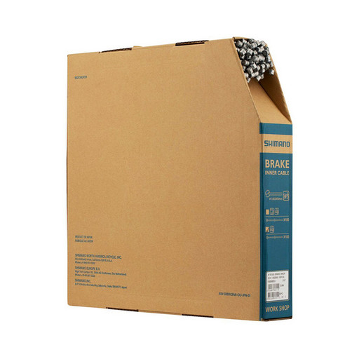 Трос торм Shimano, MTB, тр:1.6X2050мм стальн. , (100шт)в короб.