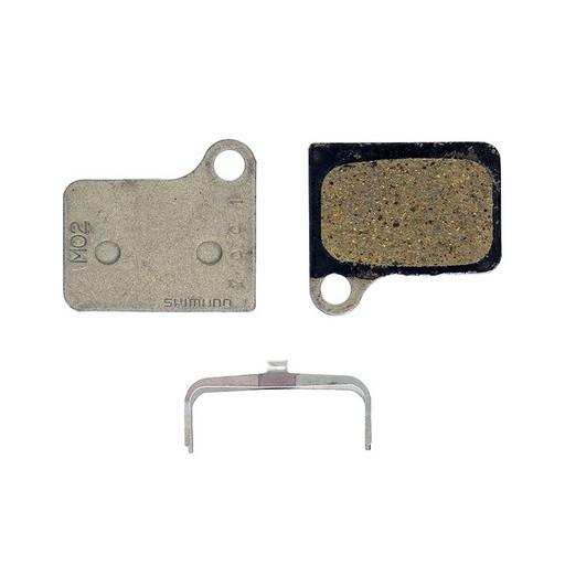 Торм. колодки Shimano, для диск т., M02, к BR-M555, пара, пластик