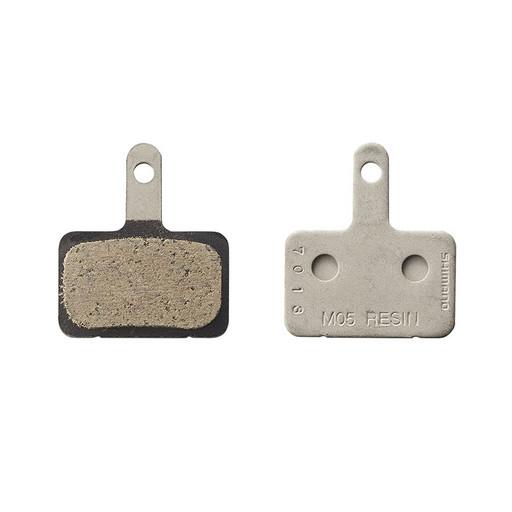 Торм. колодки Shimano, для диск т., M05, пара, пластик