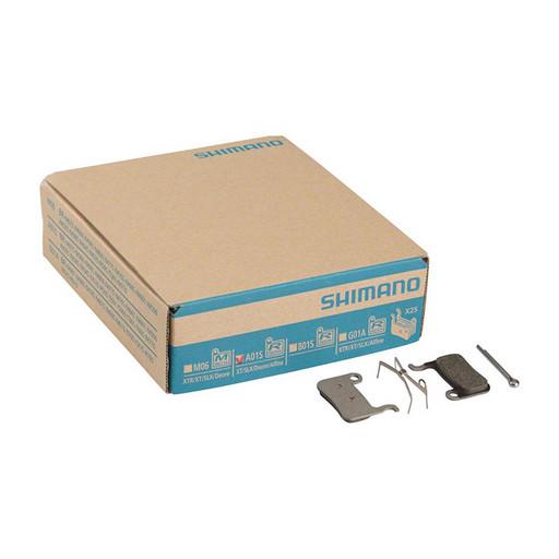 Торм. колодки Shimano, для диск т., A01S, 25 пар, пласт