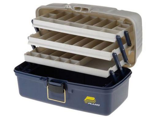 Ящик PLANO 6133-06 с 3-уровневой системой хранения приманок
