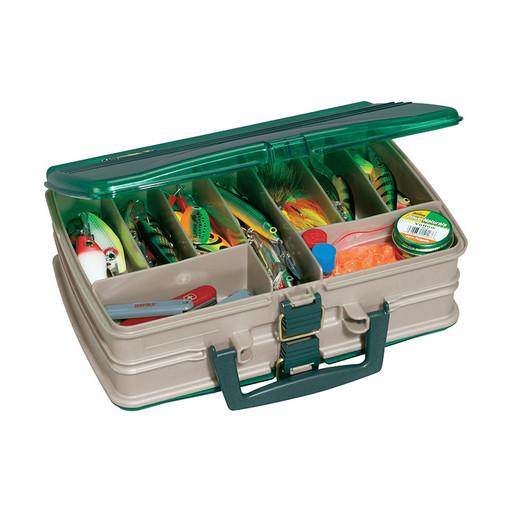 Ящик PLANO 1120-00 двустороний с прозрачными крышками, 20 отсеков