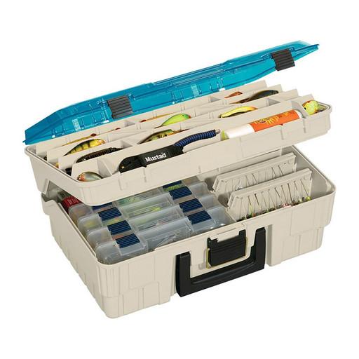 Ящик PLANO 1350 2-уровневый с прозрачной крышкой для приманок и инструмента