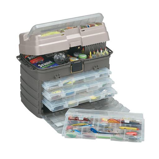 Ящик PLANO 7592-01 с четыремя коробками, большой отсек для хранения аксессуаров
