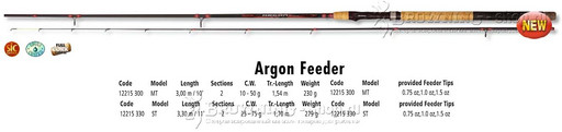 Удилище 3,00м Argon Feeder MT 50gr Browning NEW