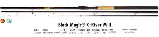 Browning Black Magic C-River M 100gr 3,60m NEW