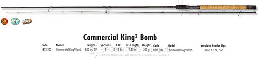 Browning Commercial King Bomb 3,00m 6lbs
