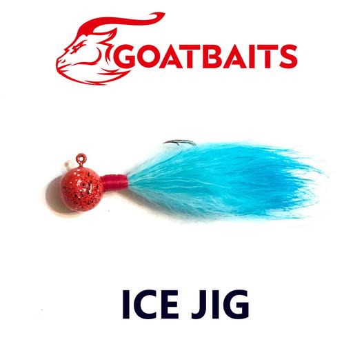 Зимняя мормышка GOATBAITS Ice Jig 7 гр. цвет 502