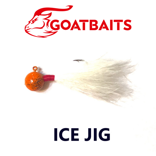 Зимняя мормышка GOATBAITS Ice Jig 12 гр. цвет 503