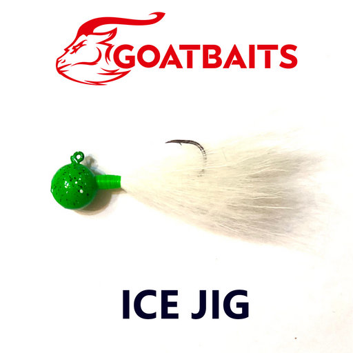 Зимняя мормышка GOATBAITS Ice Jig 7 гр. цвет 507
