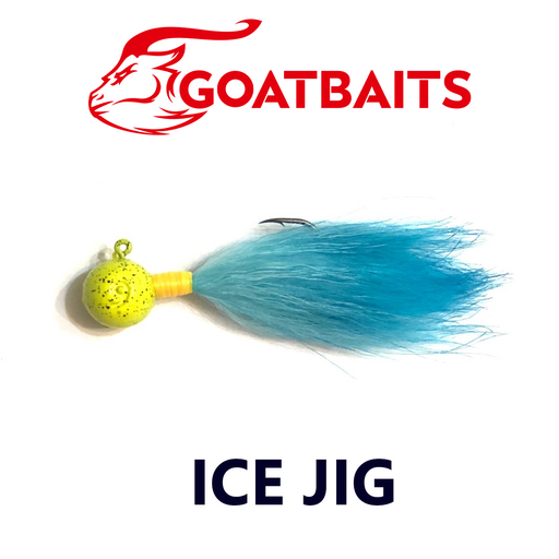Зимняя мормышка GOATBAITS Ice Jig 12 гр. цвет 509