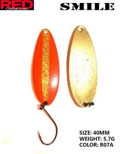 Блесна RED Smile 40mm 5.7g R07A
