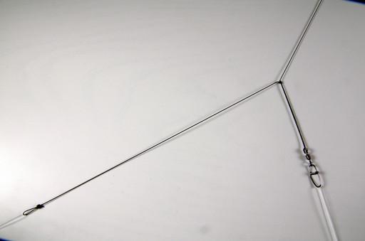 Монтаж фидерный, петля Гарднера, 50 см, с вертлюгом и застёжкой.